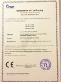 3 SECTION EXTENSION LADDER CERTIFICATE