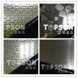 parts of embossed patterns