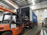 We are loading the container