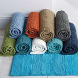 Multi-color hotel bath mat