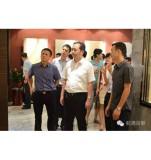 Zhen XinCong Secretary of QuanZhou Fujian China come inspect our factory