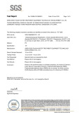 RoHS/ SGS Certificate of Tube