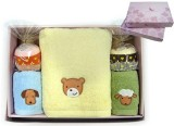 Towel Gift Sets with Embroidered Bear Design as YT-P-156