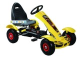 Children′s Pedal Go Kart, Inflatable Wheels Go Kart, Toy Car