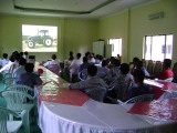 service training in Myanmar