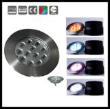 12x3w ip68 stainless steel led underwater light for swimming pool