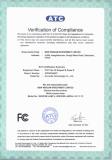 Wisdom FCC certificate lamp4