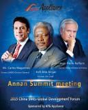 APG International News---Annan Summit meeting