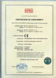 CE for Gas Valve