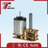24mm 12V DC brush gear motor for computer peripheral