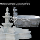 Marble Sample Metrix Carrara