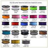 23 Solid color PLA 3d printer filament