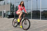 Beautiful model show our bike