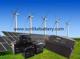Sunlike Solar Battery for Solar&Wind Power Systems