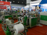 Chinaplas 2013 fair -automatic garbage rolling bag machine