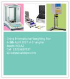international weighing fair in shanghai 6-8th April