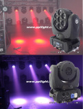 7PCS*12W 4-in-1 LED Beam Moving Head Light with Osram Lamp