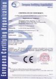 Coating Equipment CE Certificate