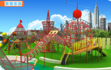 Part 3 of Guangzhou Chilren Amusement Park