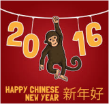 FIRST WORKING WEEK IN CHINESE NEW MONKEY YEAR
