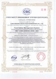 ISO 22000 Food Safety Management System certification