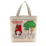promotion shoulder canvas tote shopping bag, beach bag