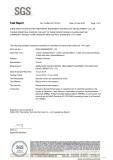 RoHS/ SGS Certificate of PP Filte