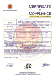 Certificate of Geosynthetic Clay Liner( GCL)