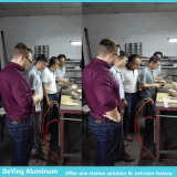 German Customer SYLVANIA visit DeYing Aluminum factory