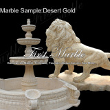 Marble Sample Desert Gold