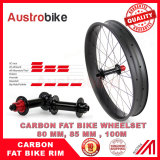 Carbon fatbike wheelset fat bike wheelset with thru axle hub