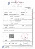 Anti-UV Certificate - IXPE Foam Insulation Tube