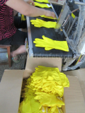 Latex gloves production