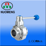 Sanitary Stainless Steel Manual Clamped Butterfly Valve