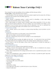 Babson Toner Cartridge FAQ 1