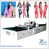 Machine For Sport Ware Material
