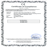 CE Certificate of LiFePO4 battery