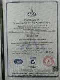 Certificaiton ISO9001