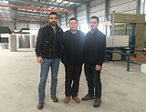 Aliber customers come to see the factory