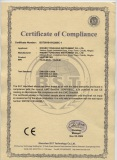 CE certificate for Multi jet mechanical heat meter
