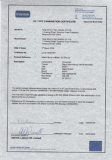 CE TYPE EXAMINATION CERTIFICATE