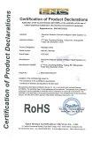 Rocago Massage Chair (MM-006 &MM-007) RoHS Certification