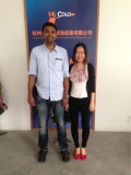Saudi Arabia Clients visit our factory for powder coating line