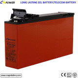 Famous Front Terminal Gel battery long life for solar