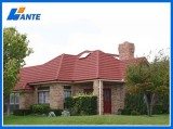 Wante Brand Colorful Stone Coated Metal Roof Tile