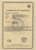 CE certificate for Single jet mechanical heat meter
