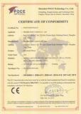 CE Certificate of LVD
