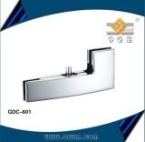 Curve glass door clamp