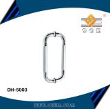 Glass door handle for shower room