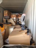 Electric Pallet Truck Loaded into Container